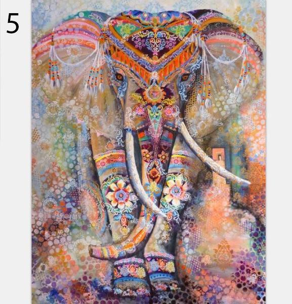 Mandala Olifant Wandkleed