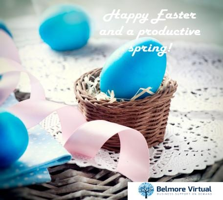 Belmore Virtual Personal Assistants wishes you a Happy Easter!