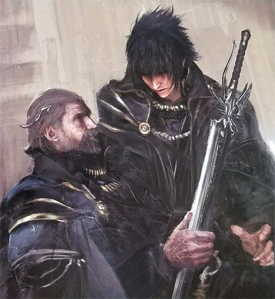 "ffxvcaps: """" The Art & Design of Final Fantasy XV (x) "" "" – Tobi As"