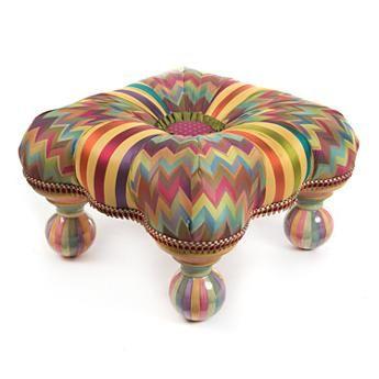 Kaleidoscope Footstool