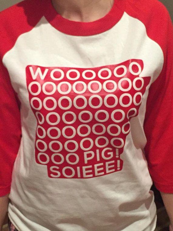 Arkansas Razorback Shirt by Kadesmommy3 on Etsy