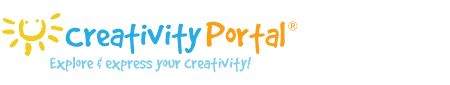 Great website! Includes arts and crafts as well as journalling ideas and writing prompts!  Creativity Portal