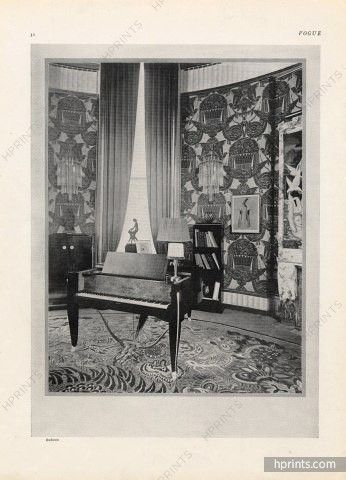 Ruhlmann 1925 Piano Gaveau, Art Déco, Photo Buffotot