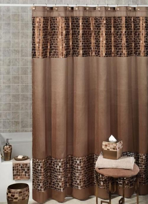 The 25+ best Brown shower curtains ideas on Pinterest | Country ...