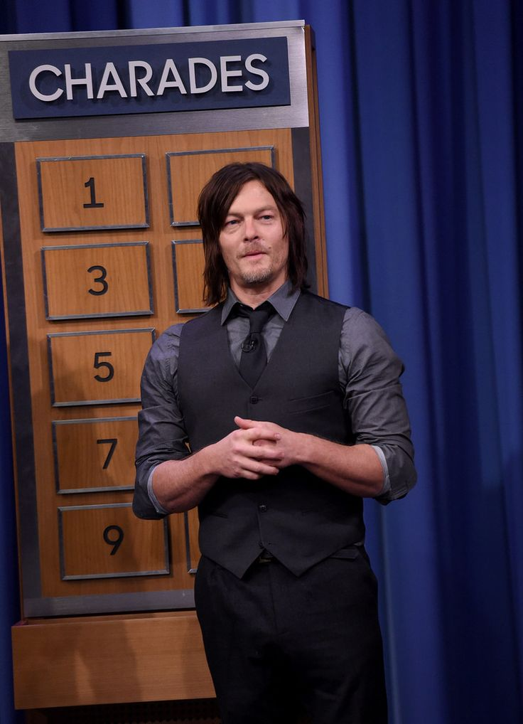 "Norman Reedus Photos: Danny DeVito and Khloe Kardashian Visit ""The Tonight Show Starring Jimmy Fallon"""