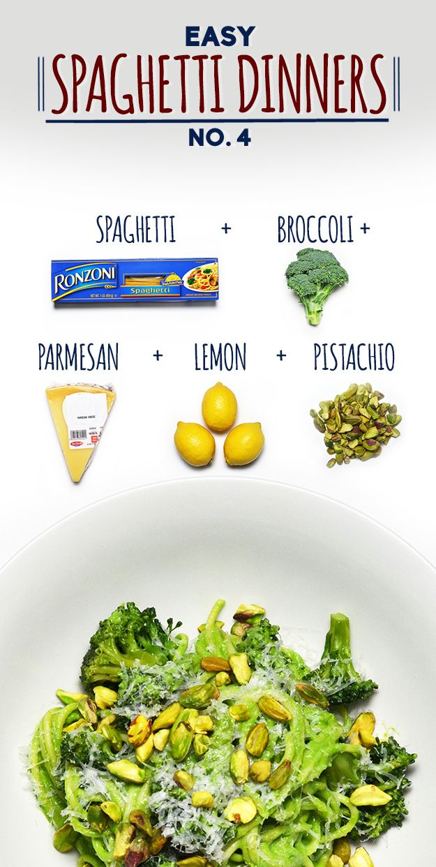 How To Make Spaghetti With Broccoli Pistachio Pesto [Recipe sounds good, but I think it needs garlic!]