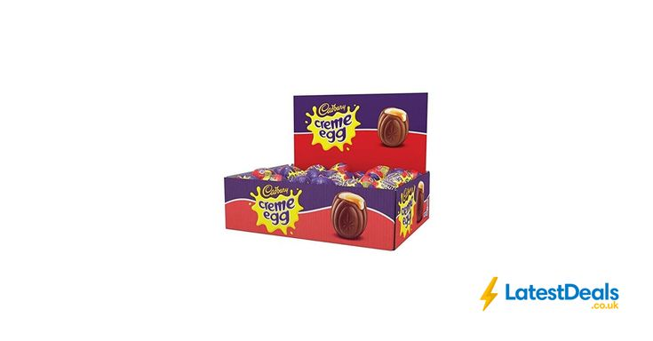 Cadbury Creme Egg (Box of 48), £15.80 at Amazon