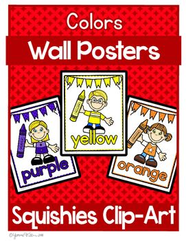 Kindergarten Wall Posters themed