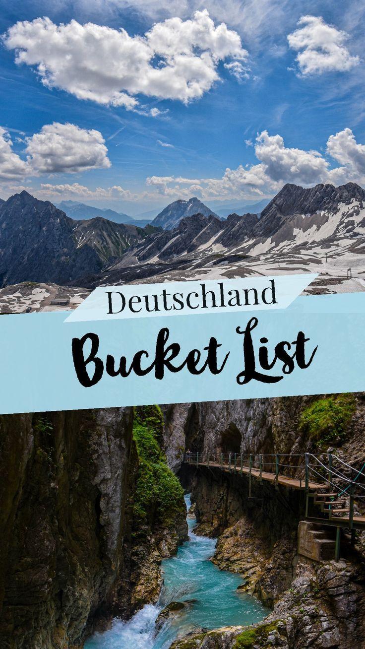 The Germany Bucket List!