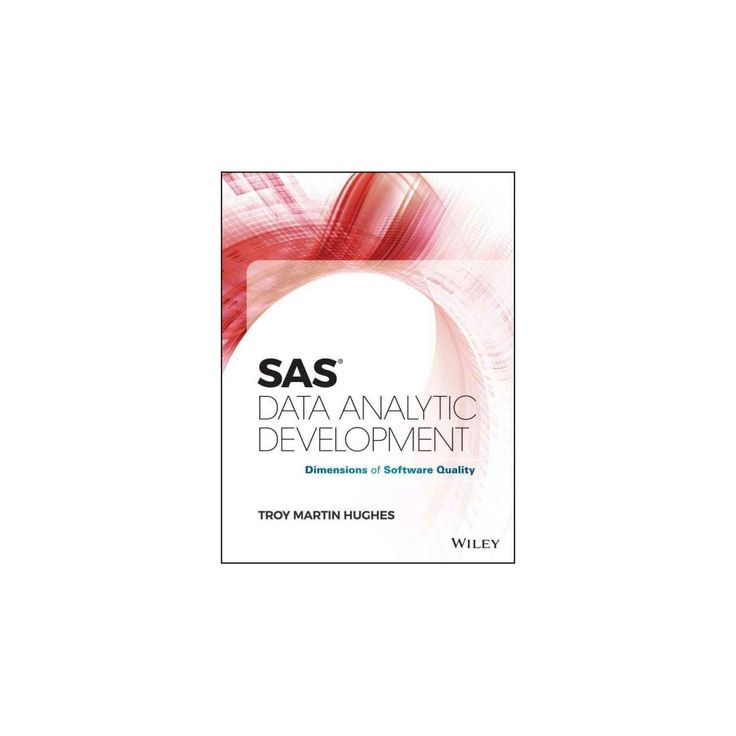 Sas Data Analytic Development : Dimensions of Software Quality (Hardcover) (Troy Martin Hughes)