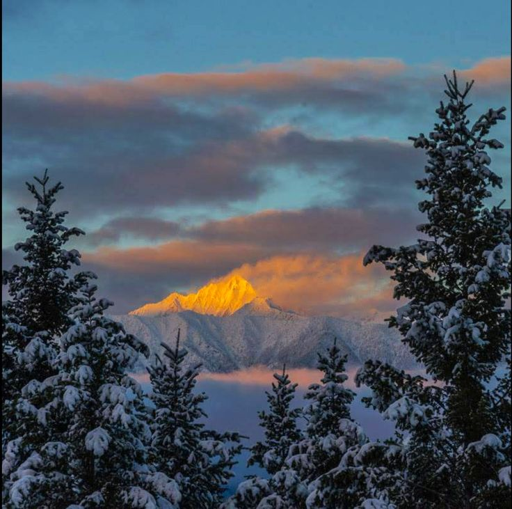 Fisher Peak, near Cranbrook BC....the highest peak in the east…