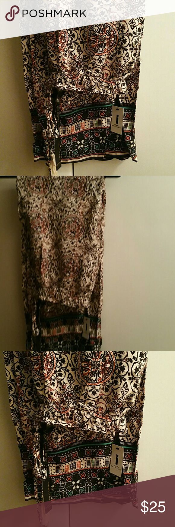 Plazzo pant Plazzo pants by i buffalo very nice and comfy not my size they are a medium. Nwt i jeans by Buffalo Pants