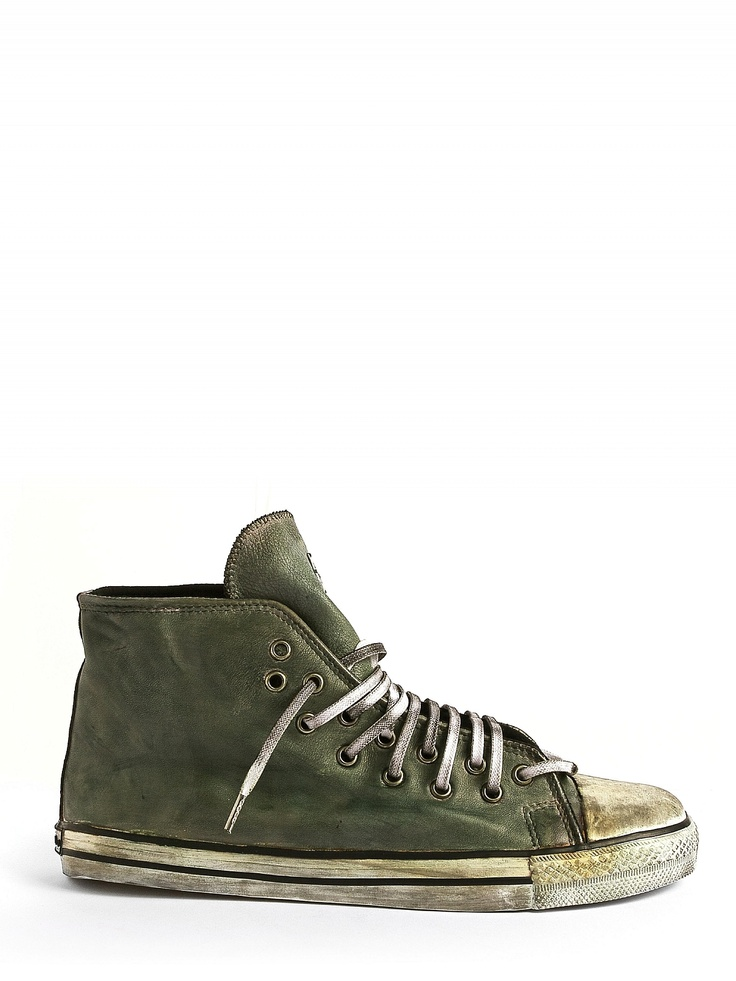 DIONISO, Sneakers, Dyed Green