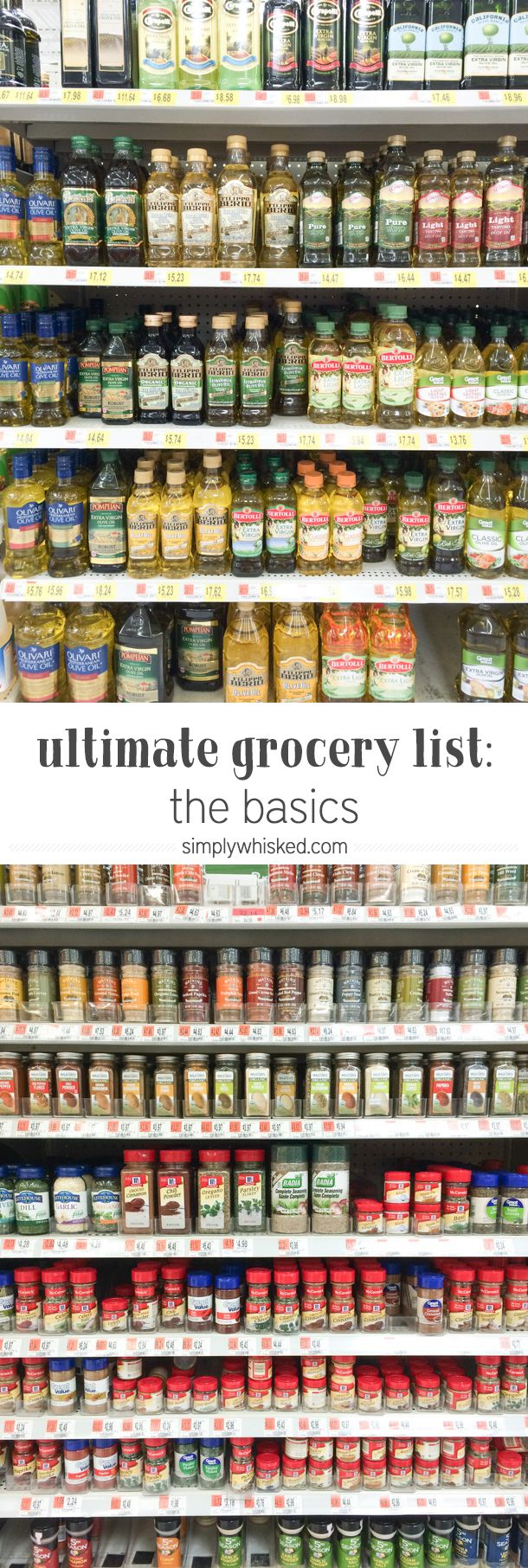 There are so many things that go into setting yourself up for success in the kitchen. Having a fully stocked pantry and fridge is just one of them, but I often find that when I have a fully stocked kitchen... Continue Reading
