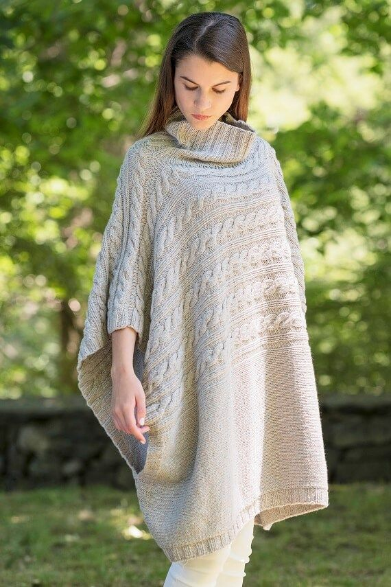 Bellows Poncho SS17 Hania by Anya Cole