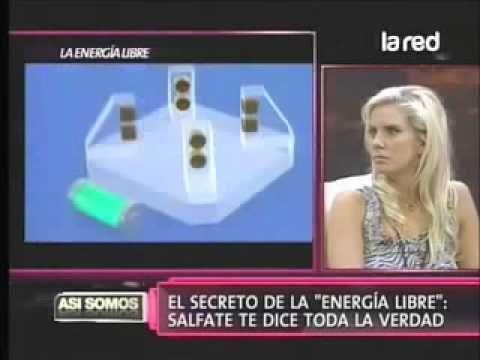 Salfate expone sobre invento de energía libre censurado
