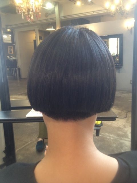 buzzed nape | hairstyles | Pinterest | A kiss, Kiss and The salon