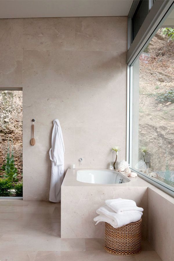 Stone Bathroom Designs best 25+ natural stone bathroom ideas on pinterest | stone tub