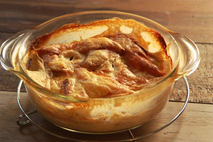 Kohlrabi-Süßkartoffel-Gratin