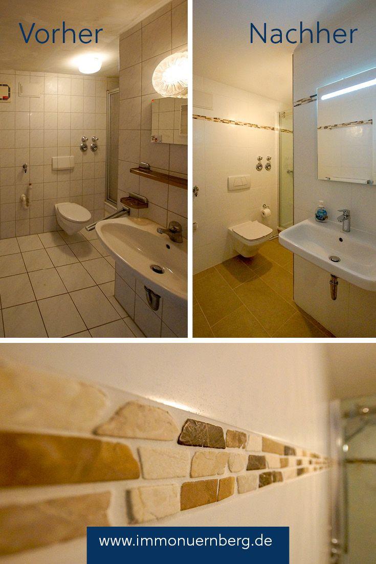 Vorher Nachher Badezimmer Die Sanierung Dieses Kleinen Badezimmers Hat Sich Gelohnt Bad Renovieren Kosten Bad Renovieren Badewanne Streichen