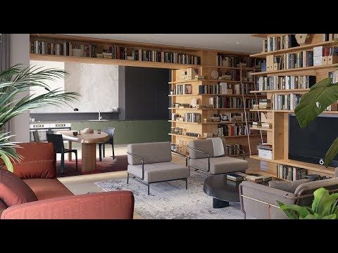 Living Room Decor Ideas for Book Lovers