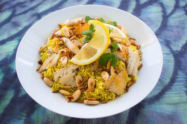 Sajadijeh- Libanesiskt ris med fisk - ZEINAS KITCHEN