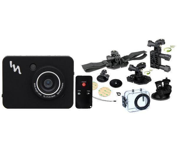 TNB Adrenalin - Sportskamera + Komplett pakke (fjernkontroll og vanntett kamerahus) fra Pixmania. Om denne nettbutikken: http://nettbutikknytt.no/pixmania/