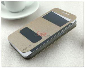 Чехол (книжка) Pudini Goldsand для Samsung G361H Galaxy Core Prime VE (с окошком)