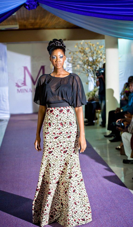 Mina Evans Ghana Fashion Ghana And African Fashion Style