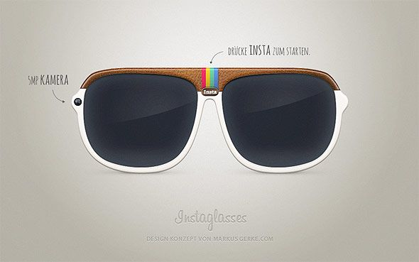 Instaglasses.  How cool are these?The Instagram, Instaglass Instagram, Instaglass Jajajaja, Instaglass Design, Instaglass Es