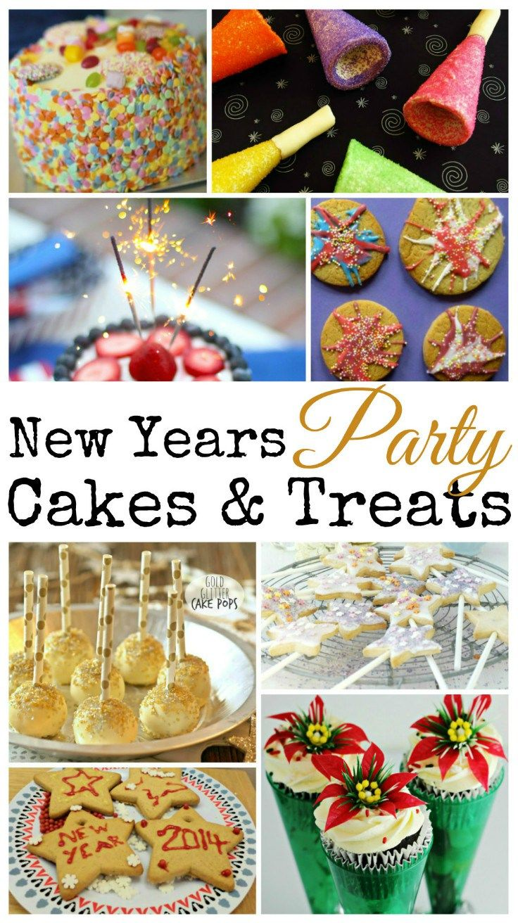 Cake & Treat Ideas for New Years (from In the Playroom)