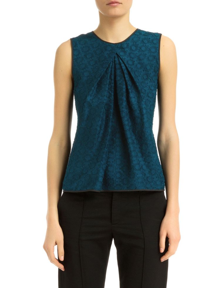 gorgeous blue!  pleated top from maiyet