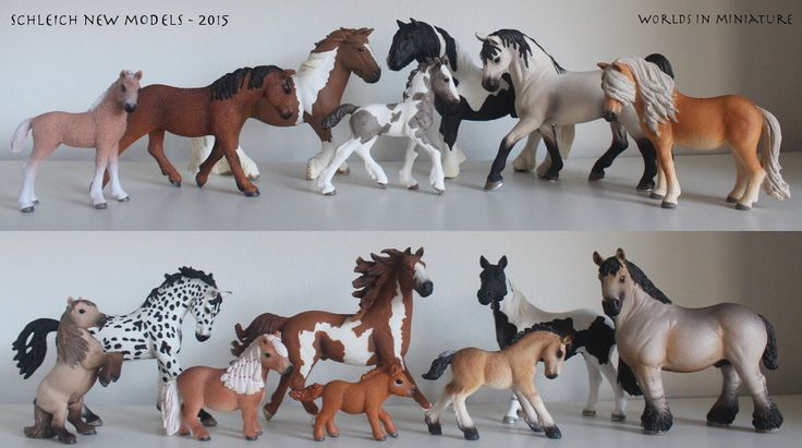 Schleich Horses 2015 by Worlds-in-Miniature