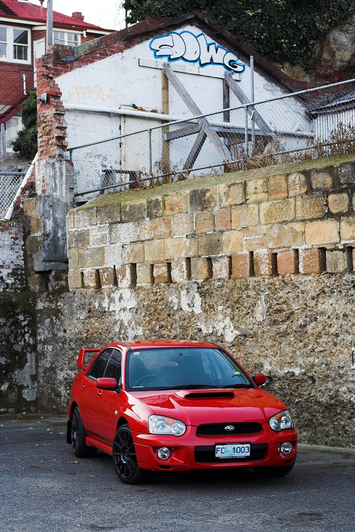Subaru WRX, 2004, love me some red!! This is the car I want!!! Omg I'm gonna die. Color, year, style, EVERYTHING!