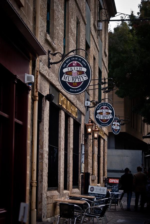 Irish Murphy's Salamanca Market in Hobart, Tasmania.