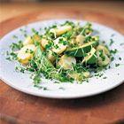 Jamie Oliver: aardappelsalade met avocado en tuinkers - recept - okoko recepten