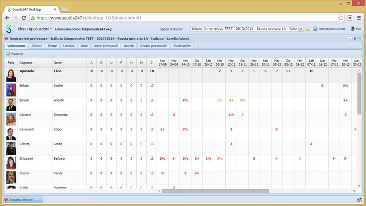 Un registro elettronico gratuito: Scuola247