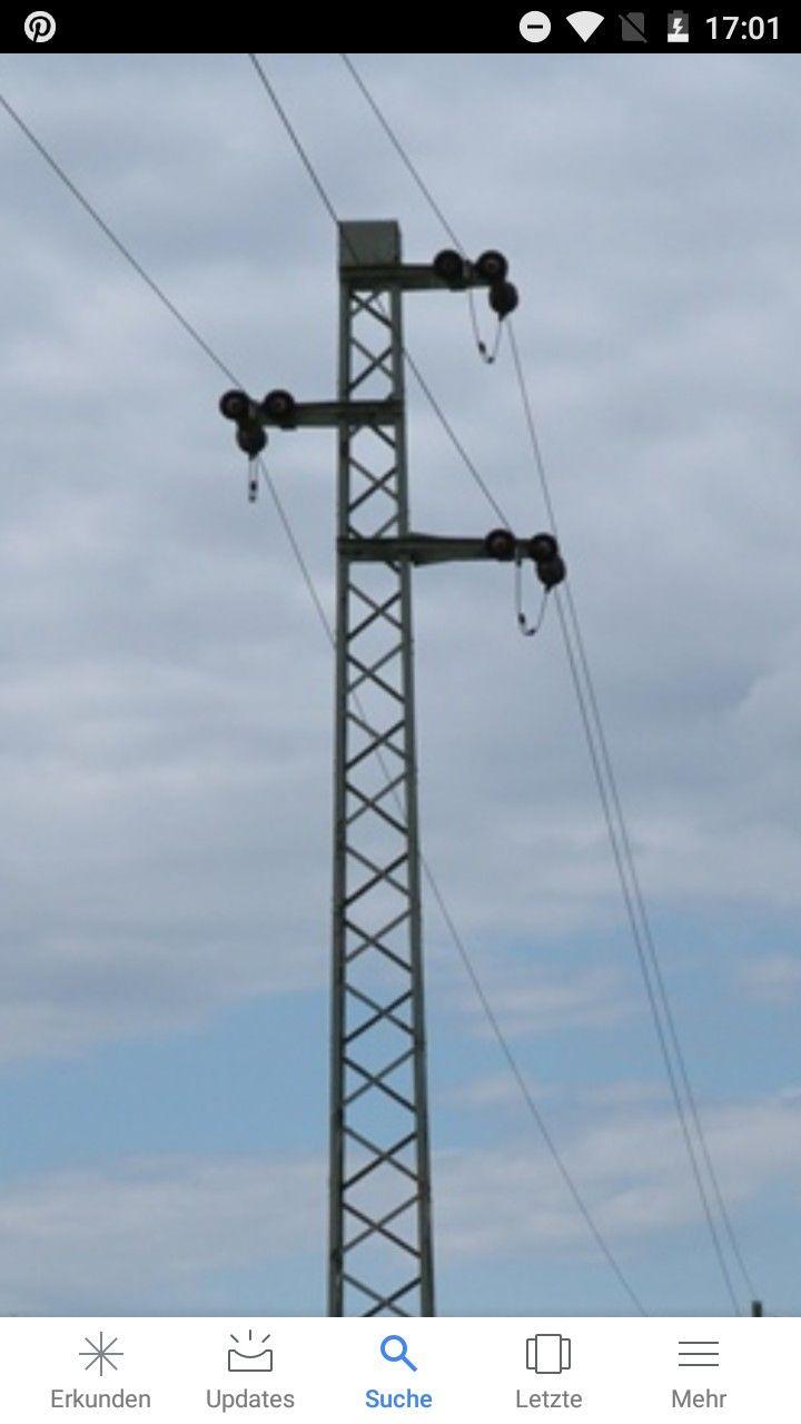 German 10 kv Pole,one System  | Stahlgittermasten und weiteres in