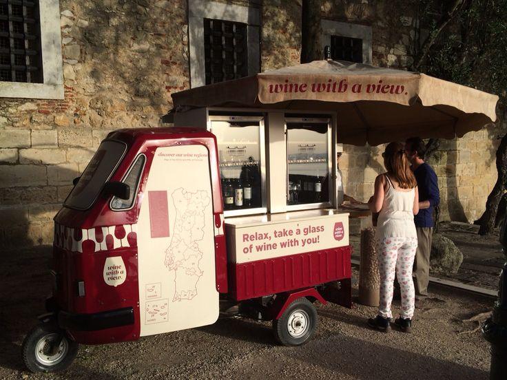 Wine with a view #lisbon #castellosanjorge