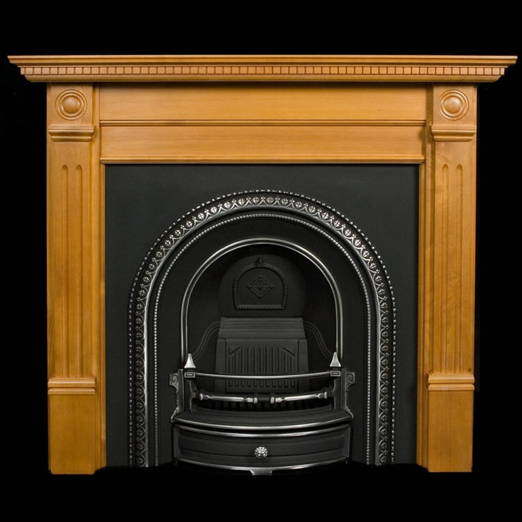 Reproduction Georgian Fireplaces Part - 33: Wooden Fireplace Surrounds | Wood Fireplaces | Pine Chimneypieces | Reproduction  Fireplaces In Wood
