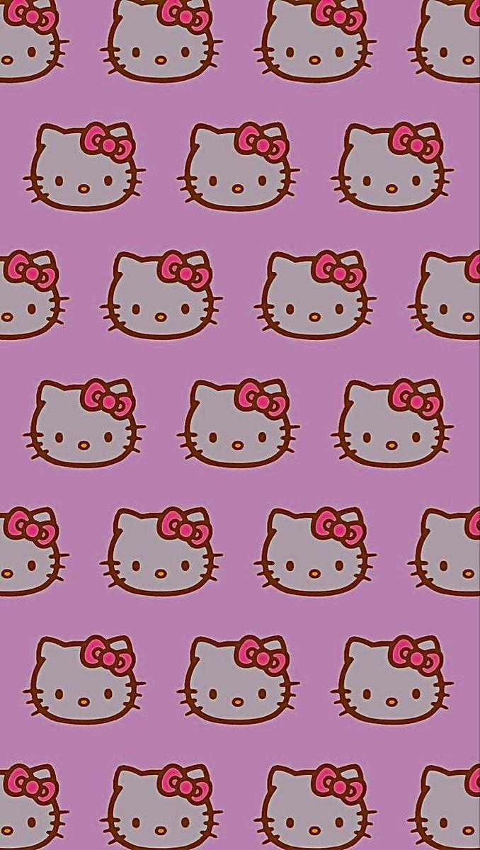 indie hello kitty 🌱🍄🧃 in 2020 Iphone wallpaper vintage