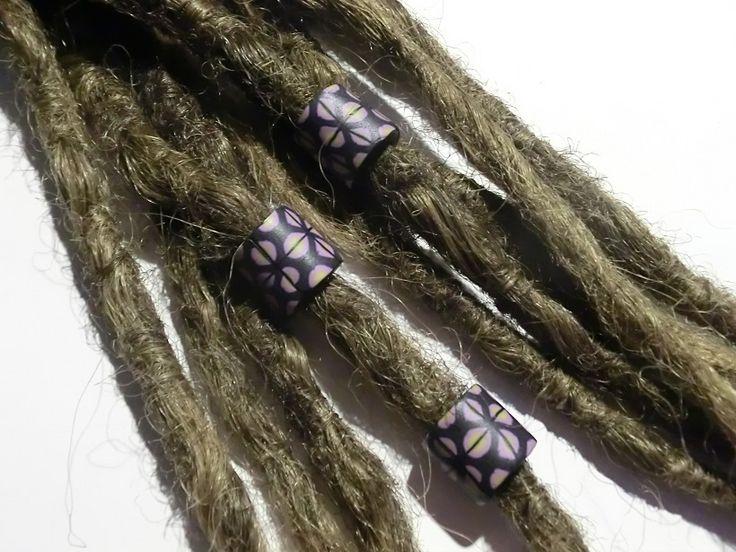 dreadlock beads polymer clay