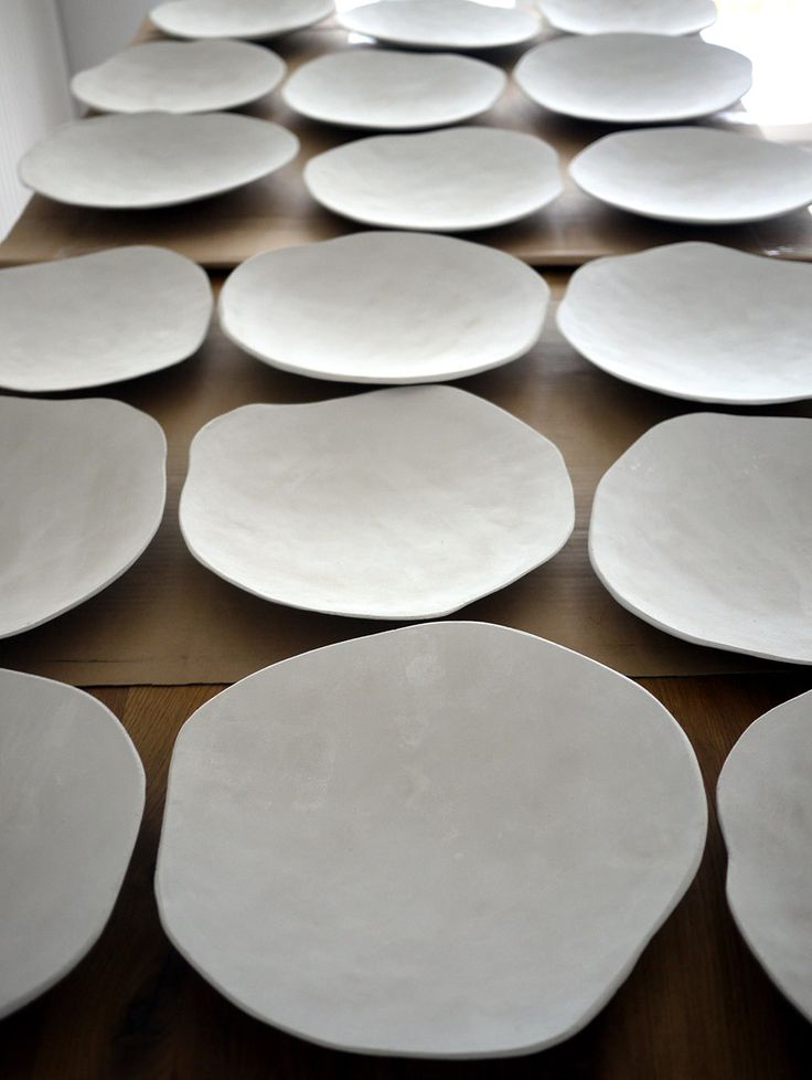 Decorative plates in progress by projectorium.pl
