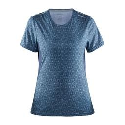 Light weight and comfortable running tee. Regular fit, shaped for optimal freedom of movement. Features :• Soft fabric with great moisture transport• Ventilation panels at sweat zone• Reflective detailing sewn into seamDetails :• Fabric : 100% Polyester