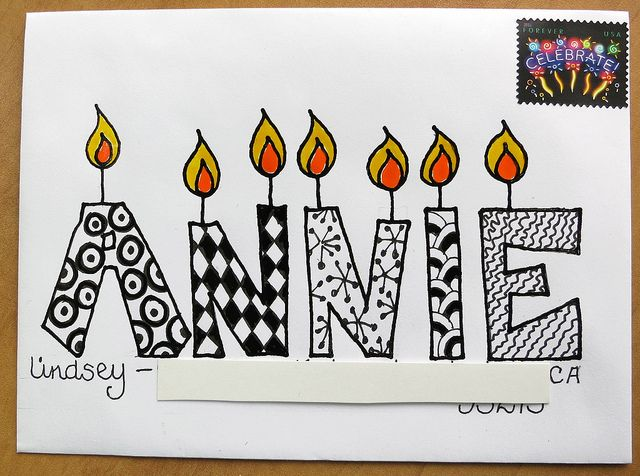 Mail Art to Annie by mamacjt, via Flickr