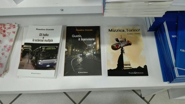 """Presso la libreria """"Il Cammello"""" di Nichelino (TO), potete acquistare i miei romanzi: #glihaikuelasclerosimultipla, #guidoiltranviere e #mizzicatorino!. Cosa aspettate? Correte!"""
