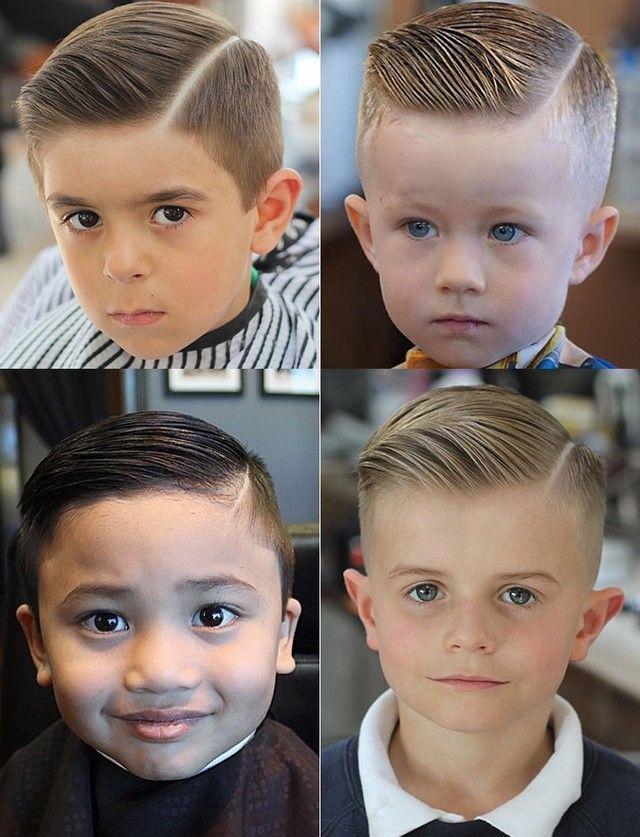 Крутые стрижки и прически для мальчиков 2017-2018 фото примеры стрижки для мальчика с пробором