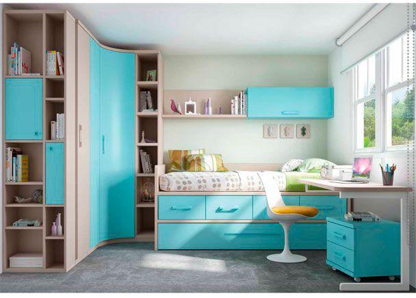 M s de 25 ideas incre bles sobre rinc n del dormitorio en for Armario habitacion nina