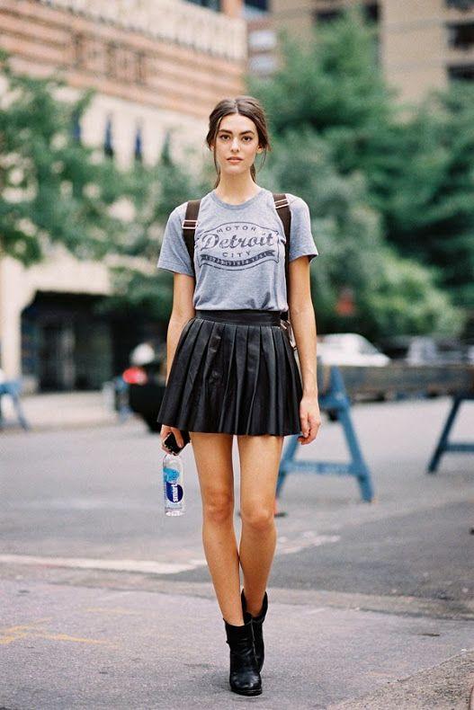Singapore Fashion Week Pvc Skirt