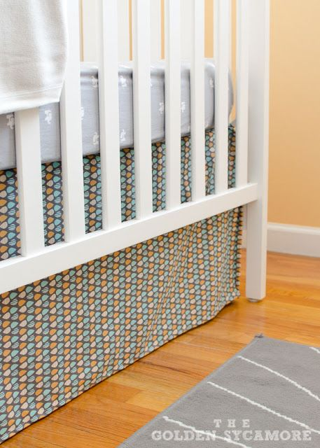 crib-skirt-in-nursery